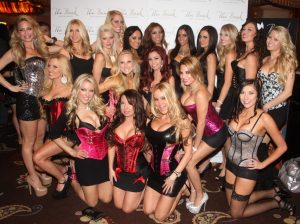 The LA Bikini Brigade on the red carpet before the big event last month!