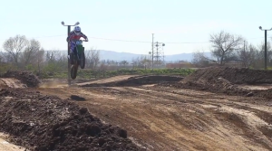 Drew takes some big leaps with the TLD crew out on the Milestone MX track in Riverside, CA.