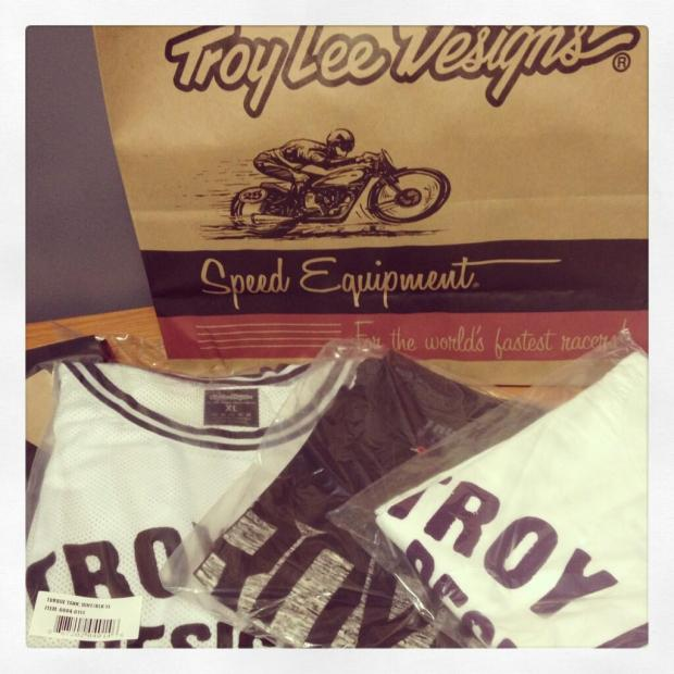 Troy Lee Designs gave our offices some great items to gift to clients including Los Angeles Clippers' Matt Barnes.