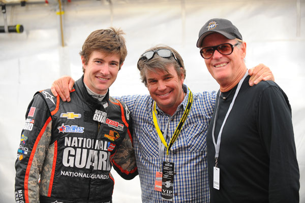 J.R. Hildebrand, Troy Lee, Peter Fonda